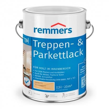 TREPPEN & PARKETTLACK Barniz protector autobrillante para superficies de madera y parket (Remmers)