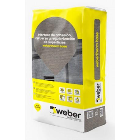 weber therm base - Mortero polimérico de altas prestaciones para los sistemas weber.therm