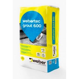 webertec grout 600 - Mortero fluido de altas prestaciones (60 MPa)