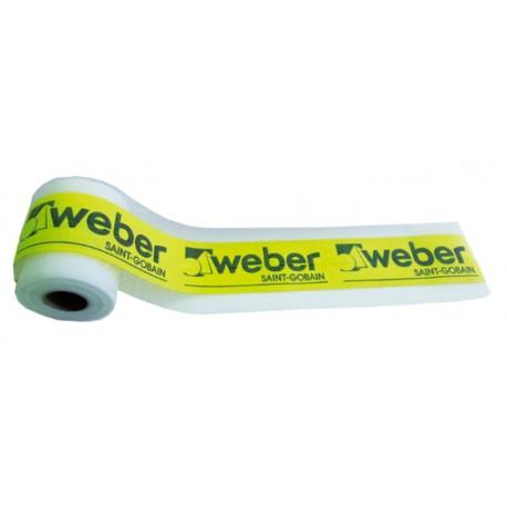 weber Imper banda - Banda elástica para impermeabilización.