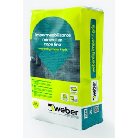 weberdry imper F - Impermeabilizante mineral en capa final