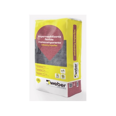 Weberdry Imperflex - Mortero impermeabilizante flexible monocomponente