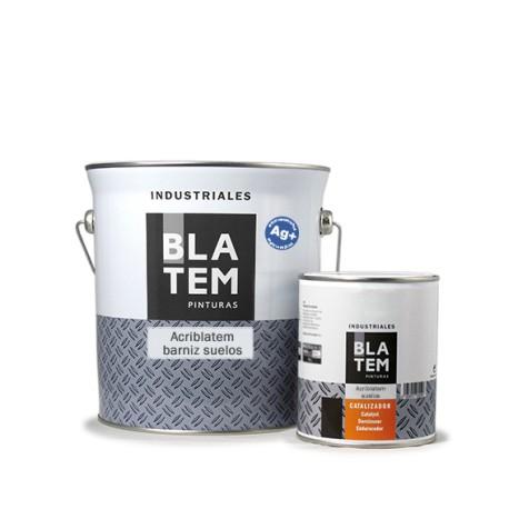 BLATEM- Acriblatem barniz suelos con iones de plata (antibacterias) + Catalizador