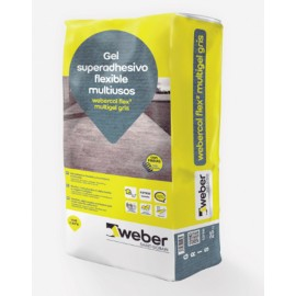 weber col flex 2 multigel - mortero multiusos