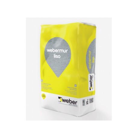 webermur liso - Mortero fino para el alisado de superficies en exterior e interior
