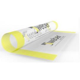 weber.therm malla 160 - Malla de fibra de vidrio para refuerzo de zonas accesibles en los sistemas weber.therm