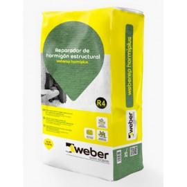 weber.tec hormiplus - Mortero para reparaciones estructurales de hormigón en grandes espesores