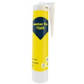 weber fix TQ25 -Resina epoxi de vinilester de anclaje rápido (taco químico)