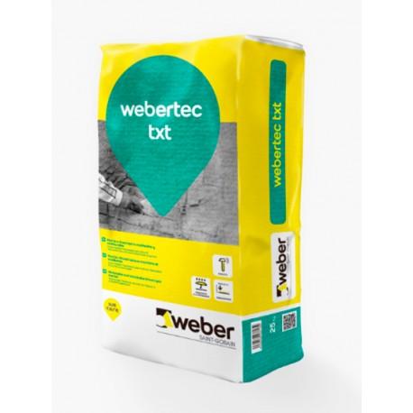 weber.tec txt - Mortero tixotrópico moldeable y moldurable