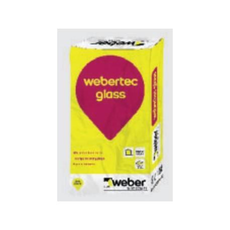 weber.tec glass - Mortero adhesivo para el montaje y rejuntado de bloque de vidrio