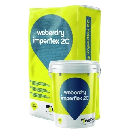 weberdry Imperflex 2C - Mortero impermeabilizante flexible bicomponente