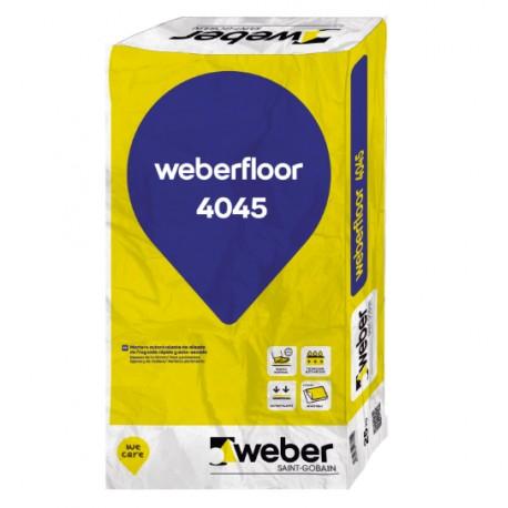 weberfloor 4045 - Reparador de fisuras y desconchados de secado rápido