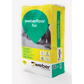 weber.floor for - Mortero autonivelante polimérico de alta planimetría