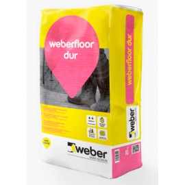 weber.floor dur - Mortero autonivelante polimérico, con fibra de vidrio, para uso industrial