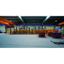 weber floor 4630 industry lit -Mortero autonivelante polimérico de altas prestaciones