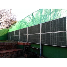 Fácil Instalación Valla Acústica NoiStop Steel natural