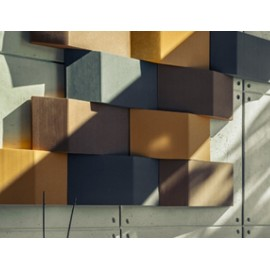 Panel Acústico Rectángulo 3D