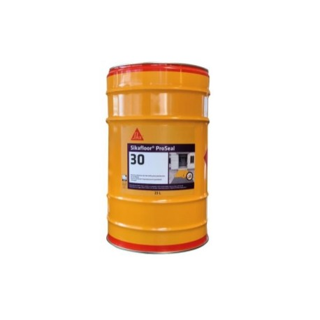 Resina protectora de alto brillo para pavimentos de hormigón [Sikafloor ProSeal 30]