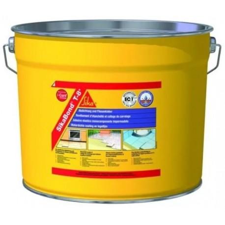 Adhesivo elástico e impermeable para pegado de baldosas [SikaBond T8]