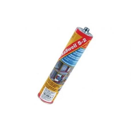Masilla para sellado de juntas de hormigonado que expande en contacto con agua [SikaSwell S2]
