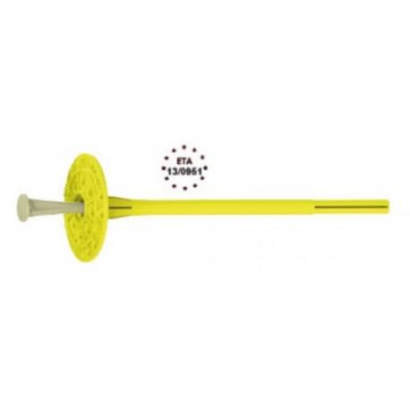 Espiga de anclaje indicada para la fijación de paneles de aislamiento térmico del sistema SATE [Sika ThermoCoat 8 ES]
