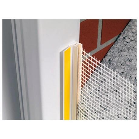 Perfil para estanqueidad de marcos de ventana [Sika ThermoCoat 10 ES]