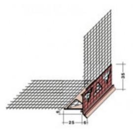 Perfil de goteo para remate en esquinas horizontales,[Sika ThermoCoat 12 ES]