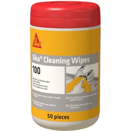 Toallitas húmedas para la limpieza de manos y herramientas [Sika Cleaning Wipes100]