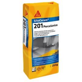 Adhesivo para la colocación de gres porcelánico [SikaCeram 201 Porcelánico]