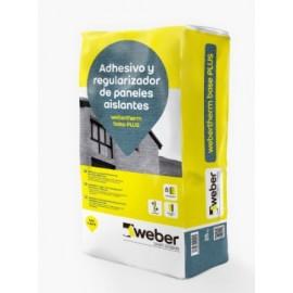 Regularizador de superficies y adhesivo de muy altas prestaciones para placas termoaislantes - weber therm base plus