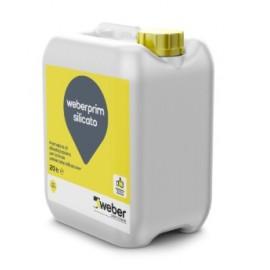 Imprimación promotora de silicatización para gama webertene premium - weberprim silicato