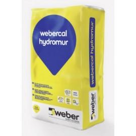 Revestimiento transpirable para tratamiento de humedades por remonte capilar - webercal hydromur