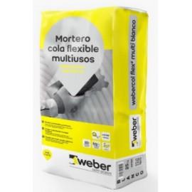 Mortero cola flexible multiusos - Webercol Flex Multi