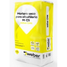 Mortero seco para enfoscado y montaje de muros de fábrica tradicionales - Weber CMK
