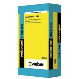 Mortero cola de altas prestaciones para interiores - Webercol Max