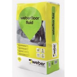 WEBERFLOOR FLUID - Recrecido técnico para espesores de 8 a 50 mm