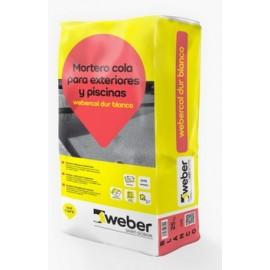 WEBERCOL DUR - Mortero cola especial piscinas y pavimento exterior