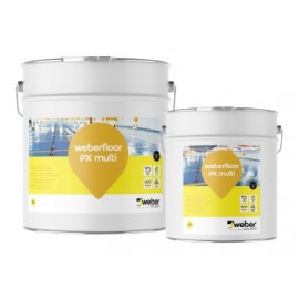 WEBERFLOOR PX MULTI - Revestimiento epoxi 100% sólidos transparente