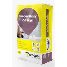 WEBERFLOOR DESIGN - Pavimento contínuo decorativo acabado liso