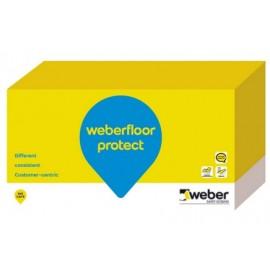 WEBERFLOOR PROTECT - Revestimiento protector acabado mate para pavimentos interiores