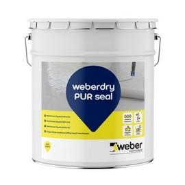 WEBERDRY PUR SEAL - Membrana impermeabilizante monocomponente 100% poliuretano en base disolvente