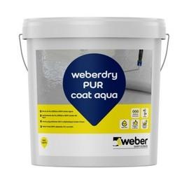 WEBERDRY PUR SEAL AQUA - Membrana impermeabilizante monocomponente 100% poliuretano en base agua