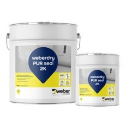 WEBERDRY PUR SEAL 2K - Membrana de poliuretano bi-componente para impermeabilización de depósitos