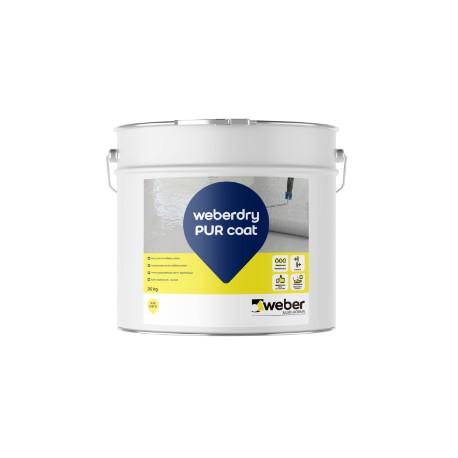 WEBERDRY PUR COAT - Barniz de poliuretano alifático monocomponentebase disolvente