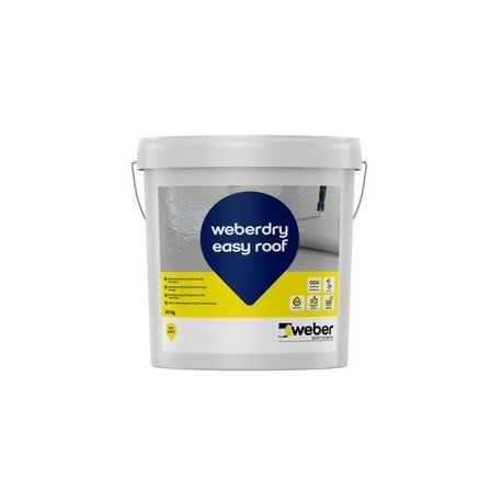 WEBERDRY EASY ROOF - Producto para impermeabilización de tejados, cubiertas, balcones y terrazas