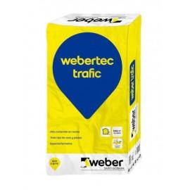 WEBERTEC TRAFIC - Reparador rápido para áreas de tráfico rodado