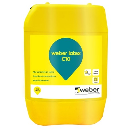 WEBER LATEX C10 - Látex concentrado multiusos