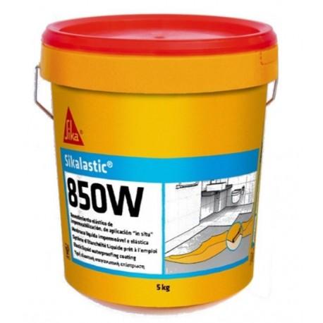 SIKALASTIC 850W - Revestimiento elástico de impermeabilización, de aplicación «in situ»