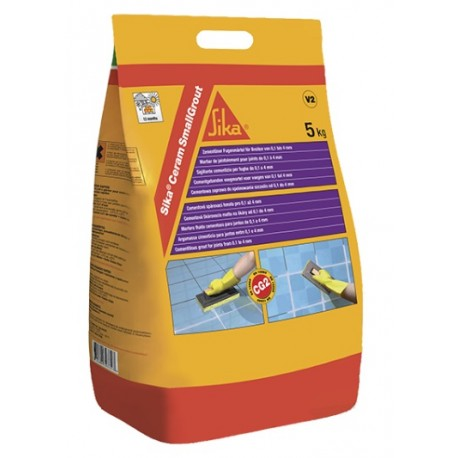 SIKACERAM SMALLGROUT - Lechada de cemento para relleno de juntas de 0 a 4 mm