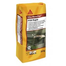 SIKA MONOTOP 3120 RAPID - Mortero de reparación estructural rápido. Clase R4